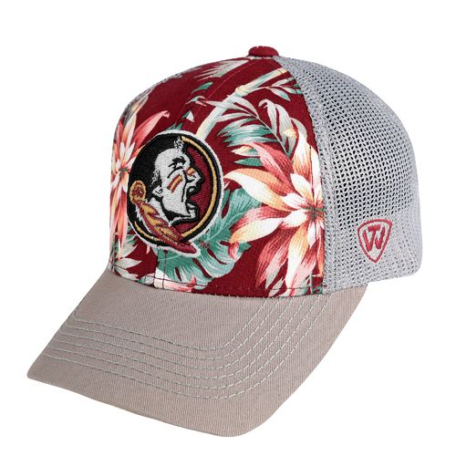 Top of the World Men's Florida State University Ocean Front Adjustable Cap