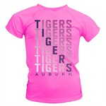 Soffe Girls' Auburn University Performance V-neck T-shirt