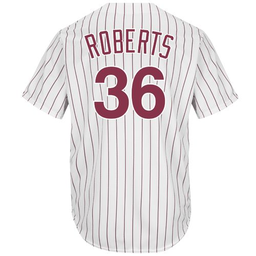 Majestic Men's Philadelphia Phillies Robin Roberts #36 Cool Base Cooperstown Jersey