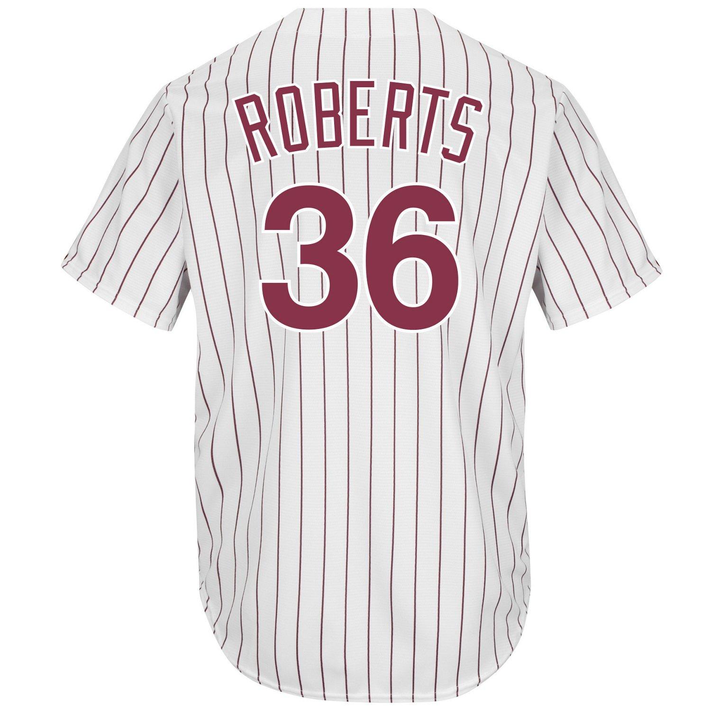 Majestic Men's Philadelphia Phillies Robin Roberts #36 Cool Base Cooperstown Jersey
