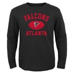 NFL Boys' Atlanta Falcons Long Sleeve T-shirt