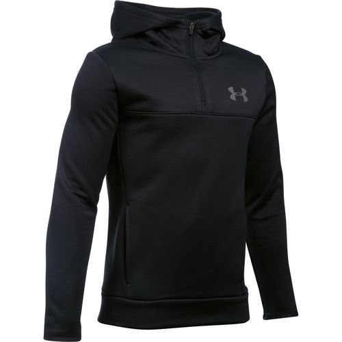 Under Armour Boys' Storm Armour Fleece 1/4 Zip Hoodie