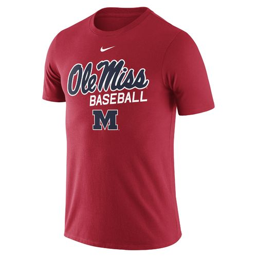 Nike Men's University of Mississippi CTN Script T-shirt