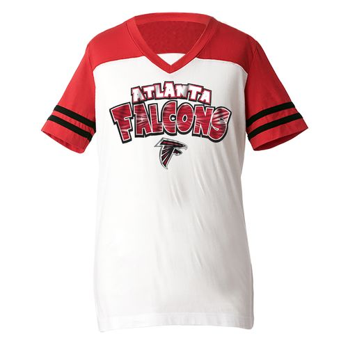 5th & Ocean Clothing Girls' Atlanta Falcons Fan T-shirt