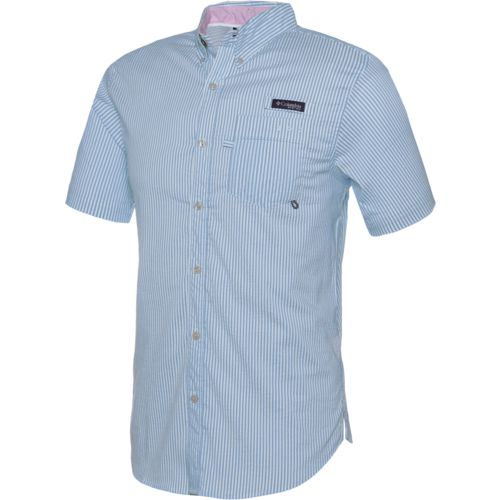 Columbia Sportswear Men's Super Harborside Woven Short Sleeve Shirt - view number 2