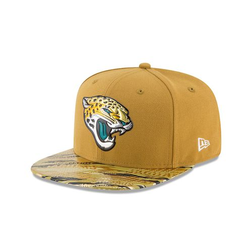 New Era Men's Jacksonville Jaguars 9FIFTY® Onfield Color Rush Cap