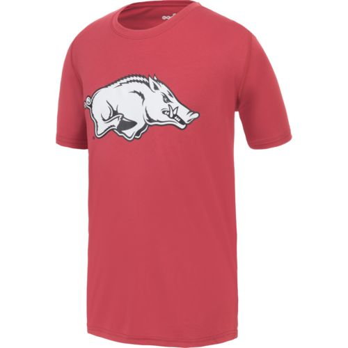 Gen2 Boys' University of Arkansas Logo Performance T-shirt