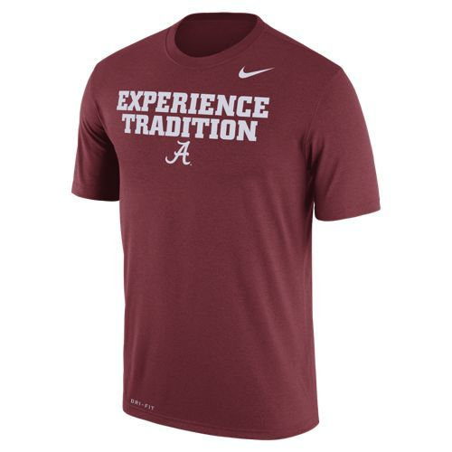 Nike Men's University of Alabama Dri-FIT Legend T-shirt