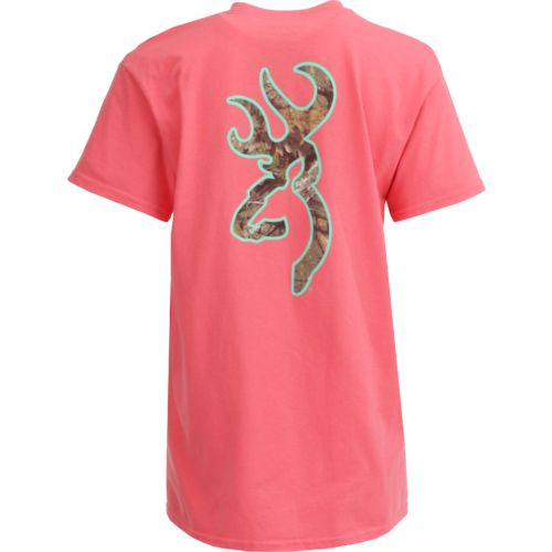 Browning Women's Mossy Oak Country Buckmark Short Sleeve T-shirt