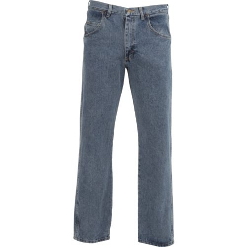 Display product reviews for Wrangler Rugged Wear Men's Relaxed Fit Jean