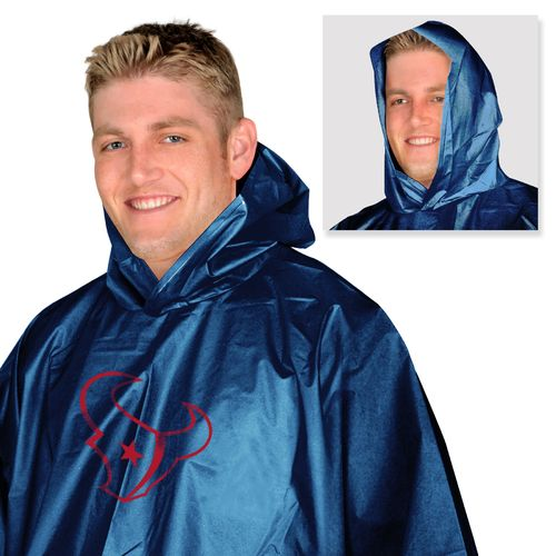 Mad Dasher Men's Houston Texans Rain Poncho
