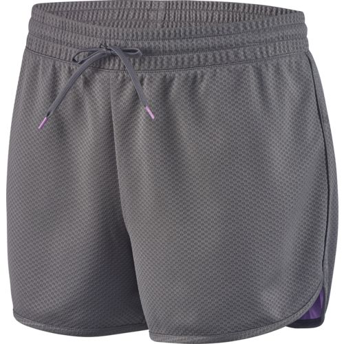 BCG Women's Mesh Curved Hem Basketball Short