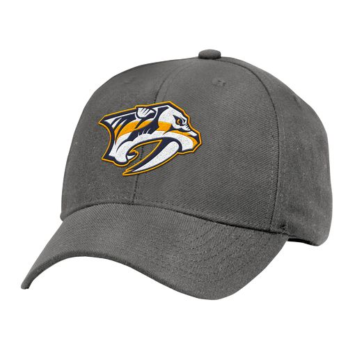 NHL Men's Nashville Predators Structured Adjustable Cap