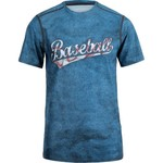 BCG Boys' Baseball Word Fitted Compression T-shirt - view number 1