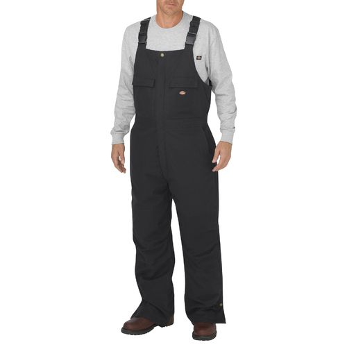Dickies Men's Flex Sanded Stretch Duck Insulated Bib Overall - view number 1