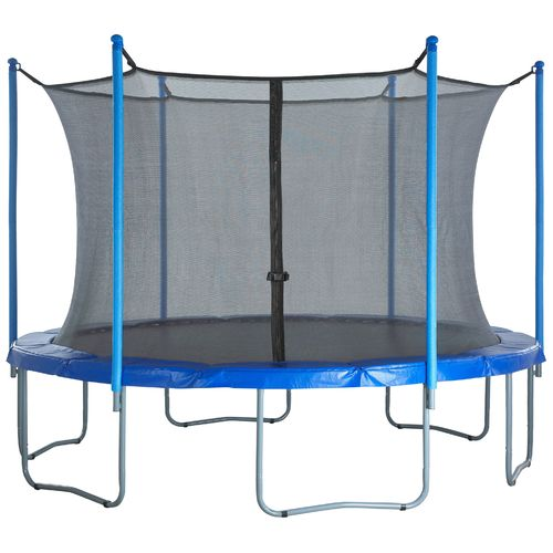 Upper Bounce® Replacement Trampoline Enclosure Net for 12' Round Frames with 6 Poles or 3 Arches - view number 6
