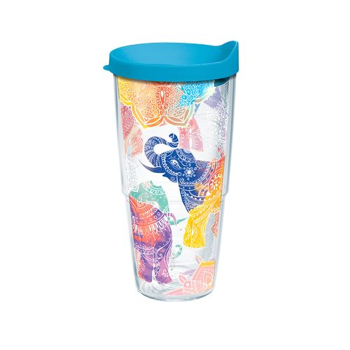 Tervis Mehndi Elephant 24 oz. Tumbler with Lid