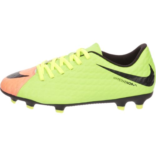 Display product reviews for Nike Boys' Jr Hypervenom Phade III FG Soccer Cleats