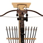 Rush Creek™ Realtree Crossbow and 10-Arrow Storage Rack - view number 2