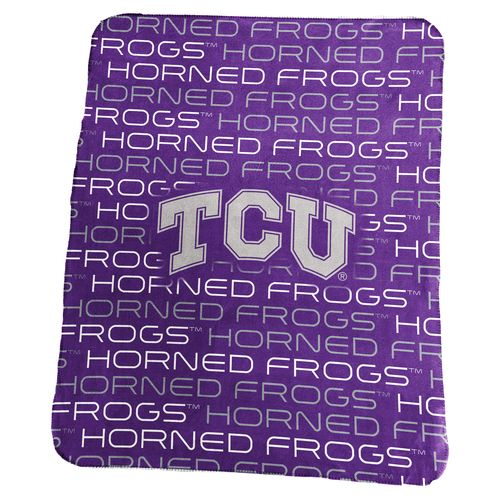Logo™ Texas Christian University 50' x 60' Classic Fleece Blanket