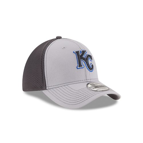 New Era Men's Kansas City Royals Grayed Out Neo 39THIRTY Cap - view number 3