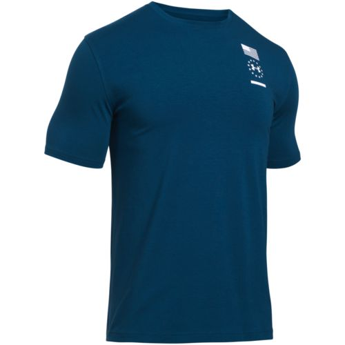 Under Armour Men's Freedom 50 Strong Short Sleeve T-shirt - view number 2