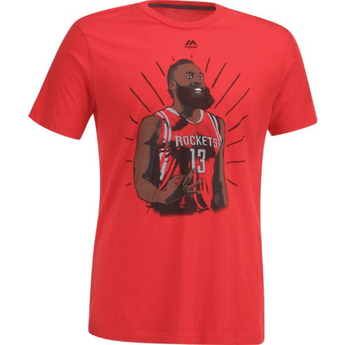 Majestic Men's Houston Rockets James Harden 13 Franchise Player T-shirt