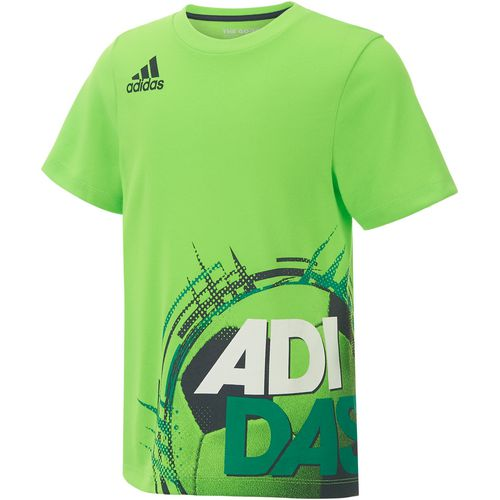 adidas Boys' Neon Dynamic Wrap T-shirt