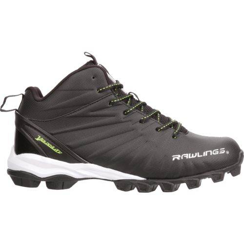 Display product reviews for Rawlings Men's Rumble Mid Football Cleats