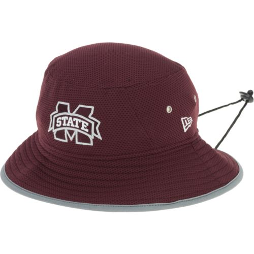 New Era Men's Mississippi State University Training Bucket Hat - view number 2