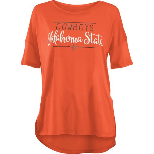 Three Squared Juniors' Oklahoma State University Script T-shirt
