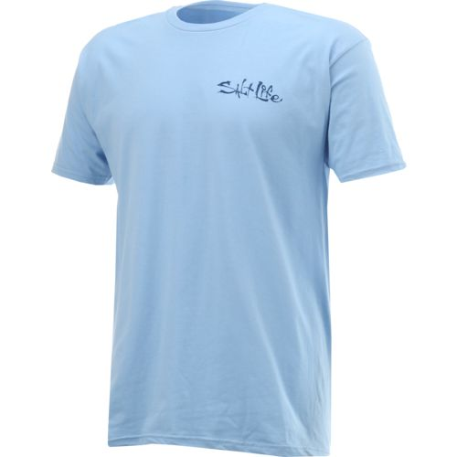 Salt Life Men's Bait and Hook Short Sleeve T-shirt - view number 3