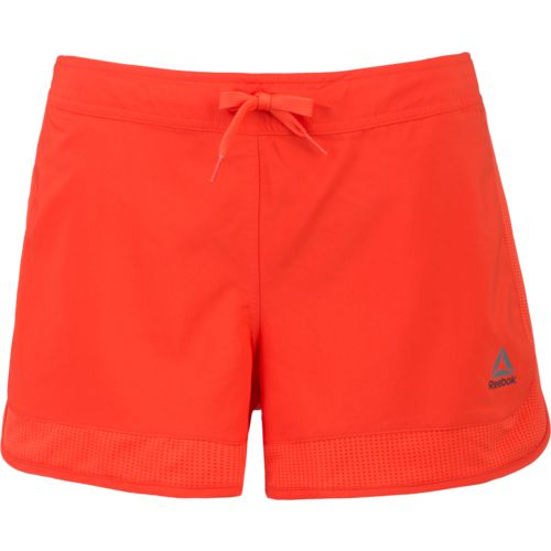 Display product reviews for Reebok Women's Workout Ready Woven Mesh Short