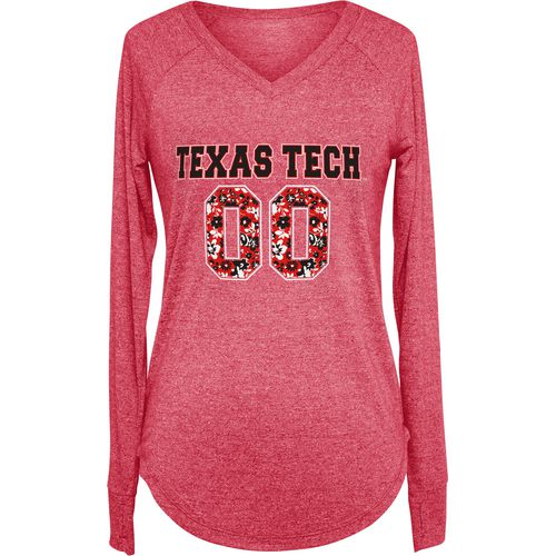 Chicka-d Women's Texas Tech University Favorite Long Sleeve T-shirt
