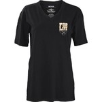 Three Squared Juniors' Kennesaw State University Team For Life Short Sleeve V-neck T-shirt - view number 2