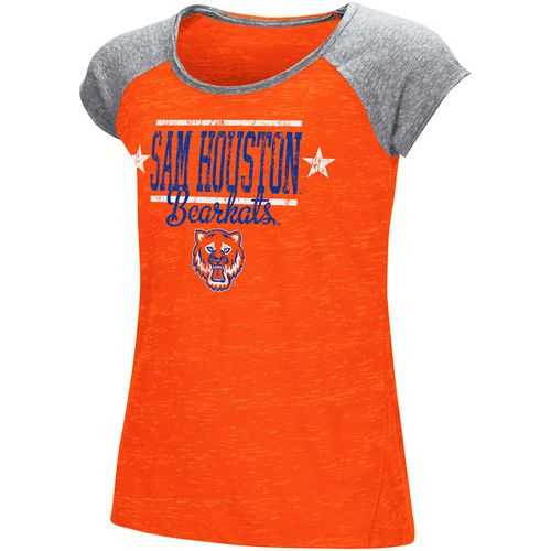 Colosseum Athletics Girls' Sam Houston State University Sprints T-shirt