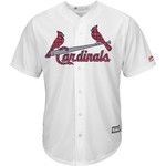 Majestic Men's St. Louis Cardinals Yadier Molina Stars and Stripes Cool Base Jersey - view number 2
