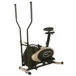 Exerpeutic GOLD XL9 Aero Elliptical and Exercise Bike Dual Trainer - view number 5
