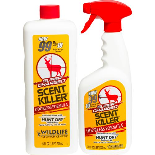 Wildlife Research Center® Super Charged® Scent Killer® Spray Combo