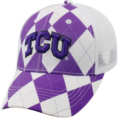 Top of the World Men's Texas Christian University Get Loud 2-Tone Adjustable Cap