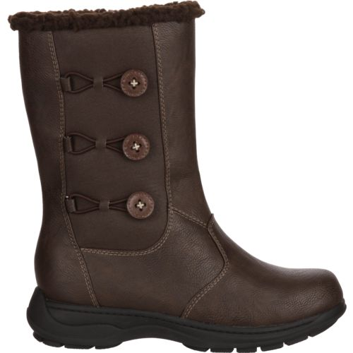 Magellan Outdoors Women's Side Button Winter Boots