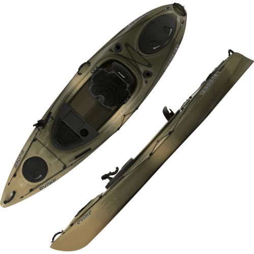 Evoke Conquer 100 10 ft Camo Sit-In Fishing Kayak - view number 1