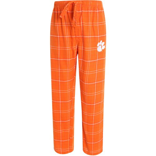 Concepts Sport Men's Clemson University Ultimate Flannel Pant