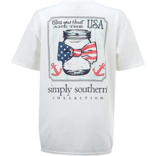 Simply Southern Women's USA Jar T-shirt