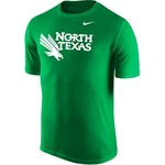 Nike Men's University of North Texas Dri-FIT Legend 2.0 Short Sleeve T-shirt - view number 1