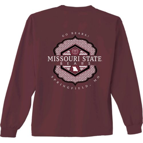 New World Graphics Women's Missouri State University Faux Pocket T-shirt