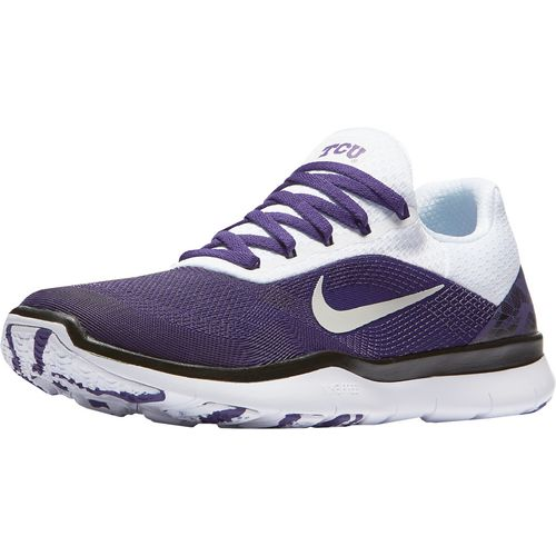 Nike Men's Texas Christian University Free Trainer V7 Week Zero Training Shoes - view number 2