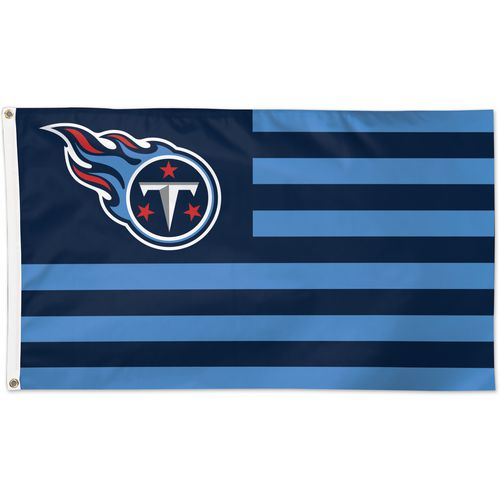 WinCraft Tennessee Titans Americana 3 ft x 5 ft Deluxe Flag