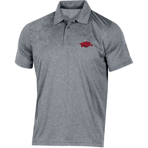 Champion Men's University of Arkansas Heather Polo Shirt