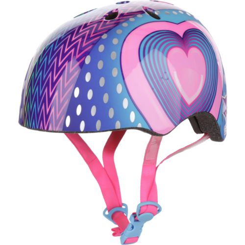 Raskullz Kids' Hearts LED Light-Up Bike Helmet